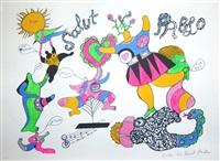 hommage à picasso by niki de saint phalle