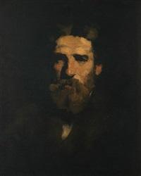 portrait of mr. barnum by william merritt chase