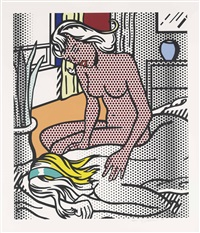 nudes series: two nudes by roy lichtenstein