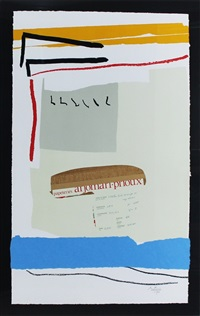 america-la france variations iii by robert motherwell