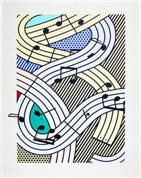 composition iii by roy lichtenstein