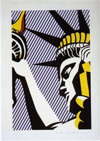 i love liberty by roy lichtenstein