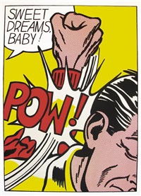 sweet dreams baby! by roy lichtenstein