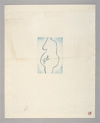 self portrait (la nausée) by louise bourgeois