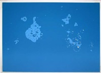 blue suds by ed ruscha