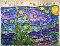 the starry night (thank you vincent) by michael scoggins