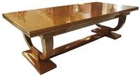 """collectionneur"" dining table by émile jacques ruhlmann"