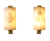 pair of wall sconces by émile jacques ruhlmann