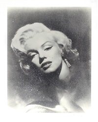 marilyn glamour by russell young