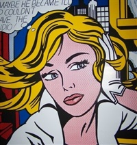 m-maybe, by roy lichtenstein
