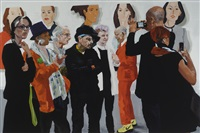 art fair: booth # to be titled by eric fischl