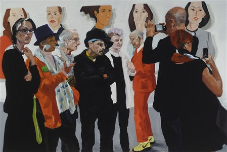 eric fischl - art fair paintings 2015 by eric fischl