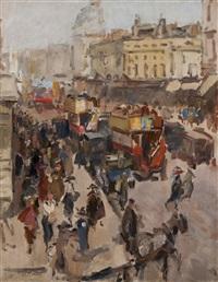regent street, london by isaac israels