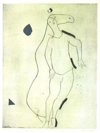 la sorpresa i, from personaggi, plate iii by marino marini