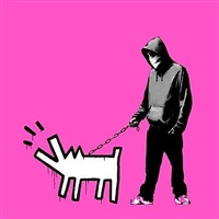 cyw (choose your weapon) bright pink by banksy