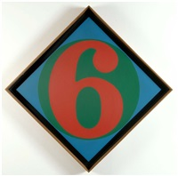 diamond six by robert indiana