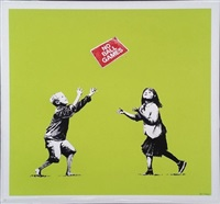 no ball games green by banksy