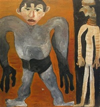 the wrestler by jon serl