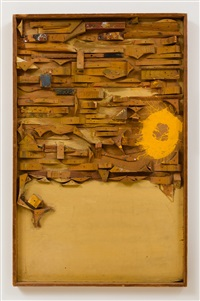 untitled (wood relief) by edward kienholz