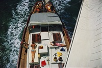 deck dwellers by slim aarons