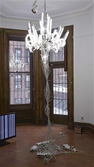 untitled (chandelier 18) by yuichi higashionna
