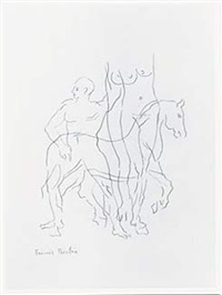 le cheval by francis picabia
