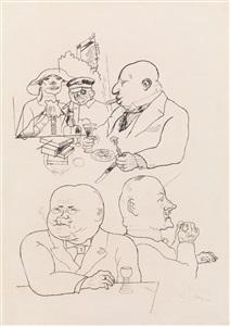 made in germany. zeichnungen 1900-2000 by george grosz