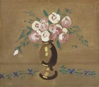 bouquet de fleurs dans un vase by maurice de vlaminck