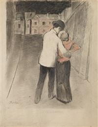 le baiser by théophile alexandre steinlen