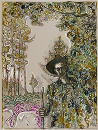 edge of the forest (version x) by billy childish
