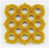 lot 011715 (exo-spore 2, ore yellow) by donald moffett