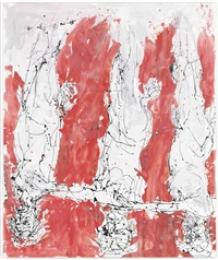 und so varmed loch by georg baselitz