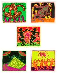 fertility series by keith haring