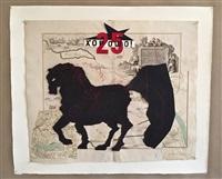 untitled (fat horse) by william kentridge