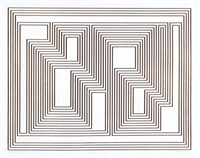 prefatio, from the graphic tectonics series by josef albers