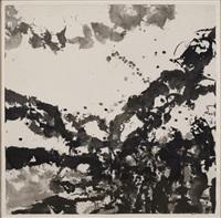 imaginary landscape by zao wou-ki