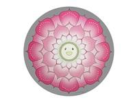 lotus flower pink by takashi murakami