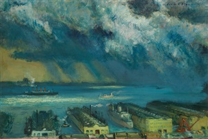 passing shower by cecil crosley bell