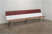 mahogany-painted poplar-purple heart by mark handforth