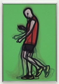 mechanic, from professionals series 2 by julian opie