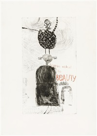 kaisarion and all his beauty by david hockney