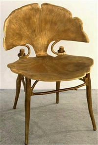 fauteuil ginkgo by claude lalanne