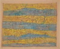 geel en blauw by jan schoonhoven
