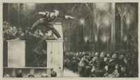 billy sunday by george wesley bellows
