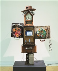 tolstoy by nam june paik