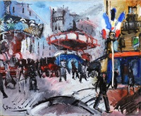 fête à montmartre by gen paul
