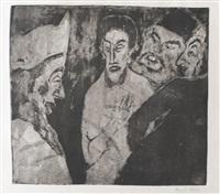 schriftgelehrte (scribes) by emil nolde