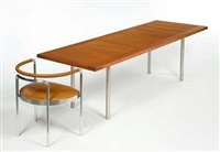 pk 50 conference table by poul kjaerholm