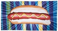 introducing...the hot dog by kenny scharf
