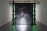 with a rhythmic instinction to be able to travel beyond existing forces of life (green, rule#1) by philippe parreno